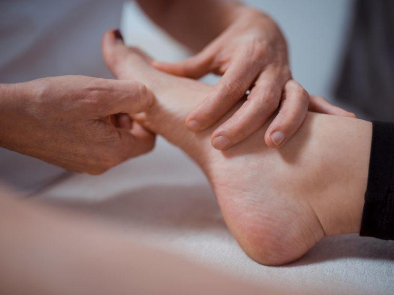 Fußrelfex Behandlung