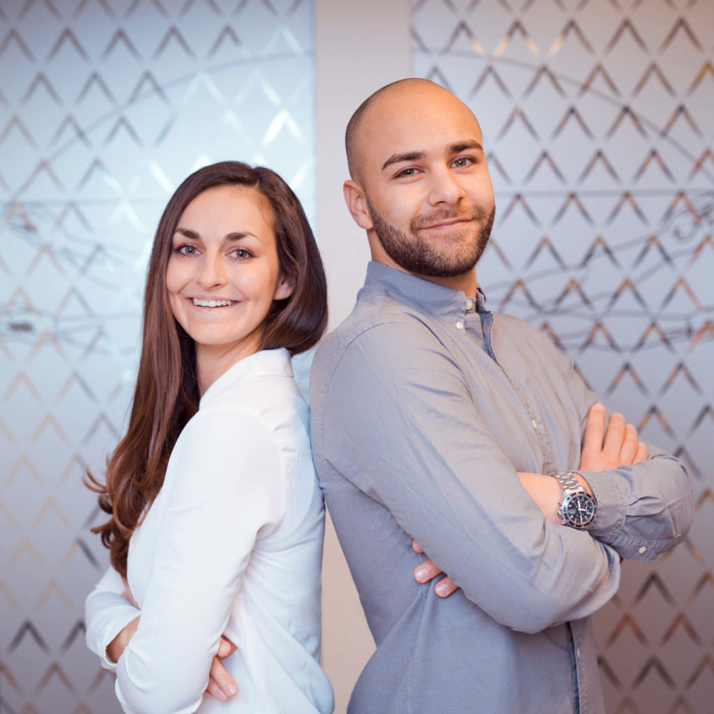 Melissa Förtig und Felix Krammig