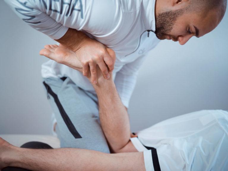 Sportlersprechstunde Behandlung